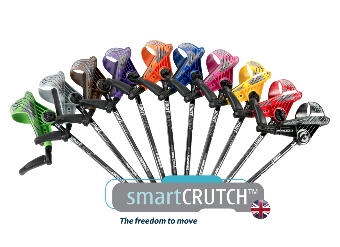 Fan with SmartCRUTCH UK Logo