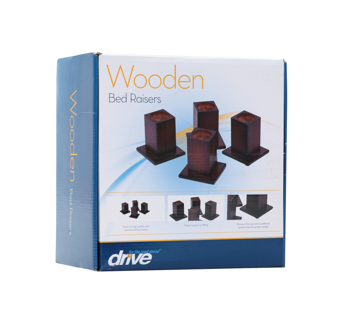Wooden Bed Raisers 2